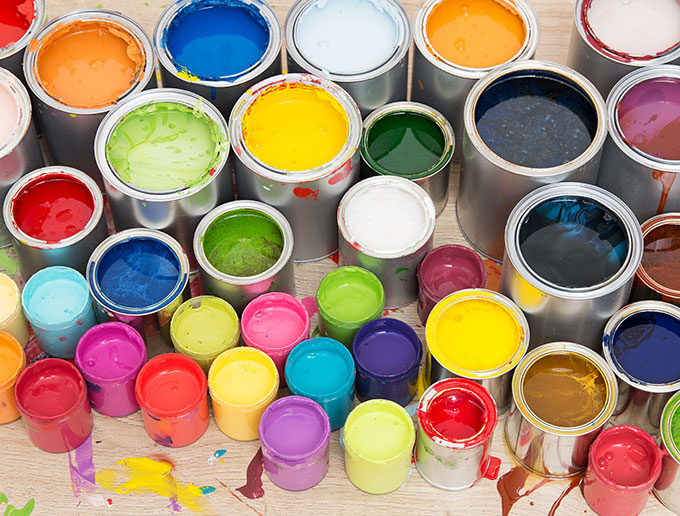 Canned paints