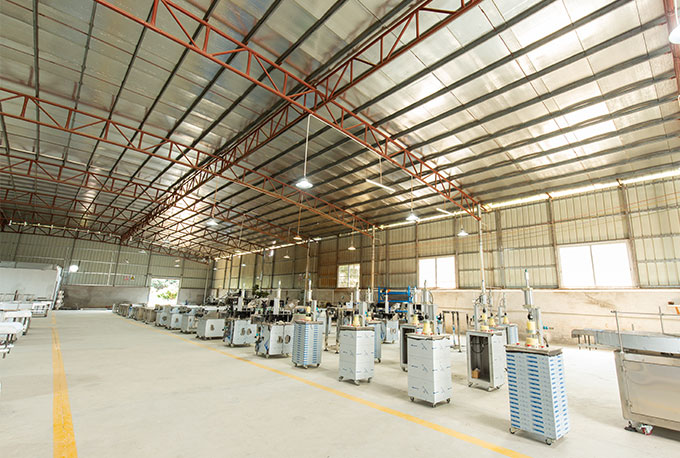 Can packaging machine factory