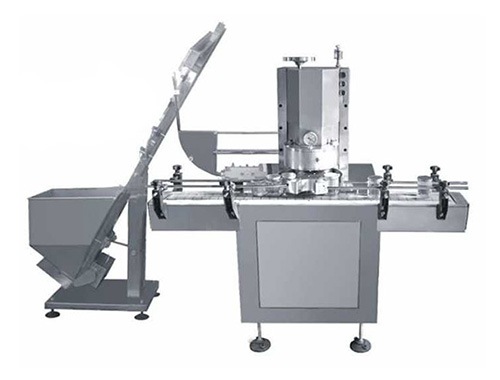 Rotary Vacuum Screw Capping Machine for Glass Can