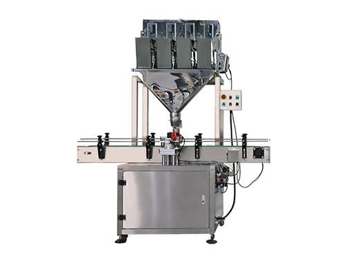 Solid Filling Machine (Linear 4 heads weigher)