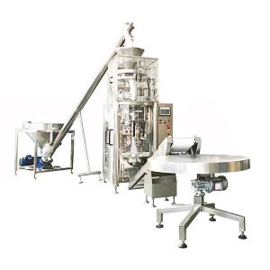 Vertical Form Fill Seal Machine-With-Volumetric Cup For Granules