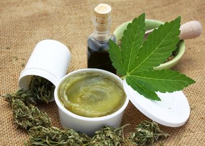 Healthy cannabis hemp natural products. Medical marijuana herb using_1123351781