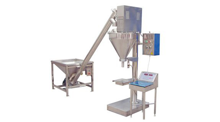 Vibration Powder Weighing & Filling Machine