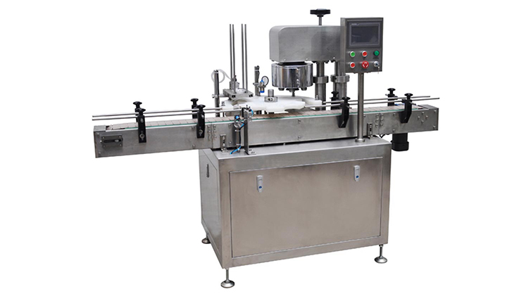 Automatic can seaming machine
