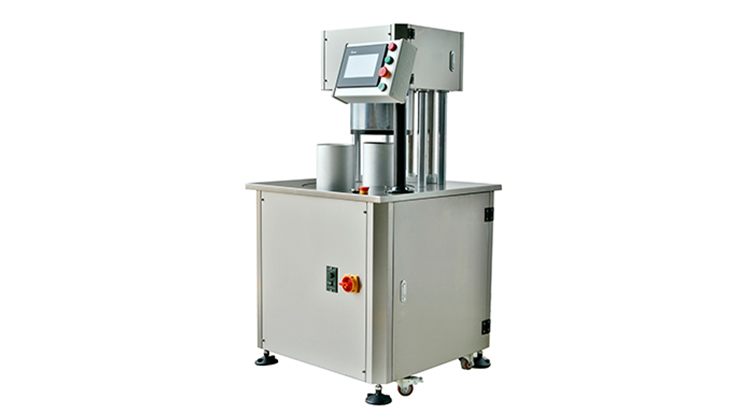 emi Auto Vacuum and Gas Nitrogen Flushing Round Can Sealing Machine