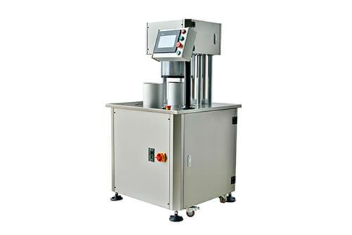 Semi Auto Vacuum and Gas Nitrogen Flushing Round Can Sealing Machine