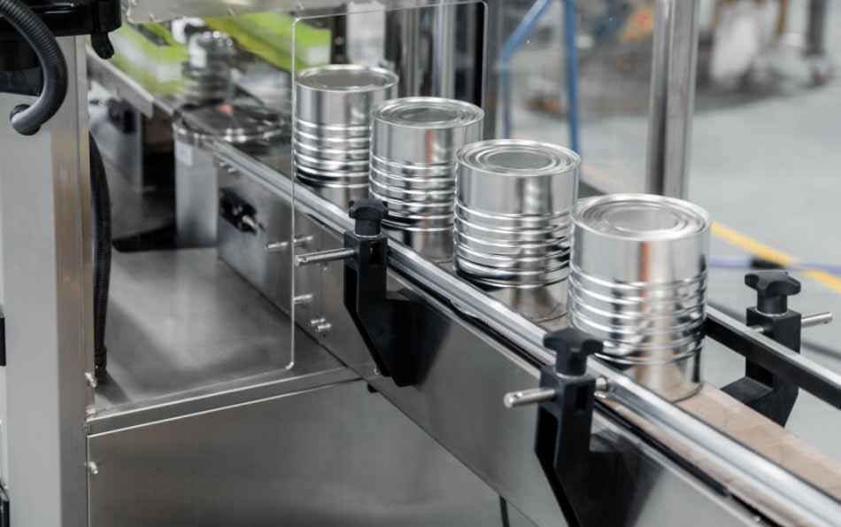 Can seamer machine for milk powder