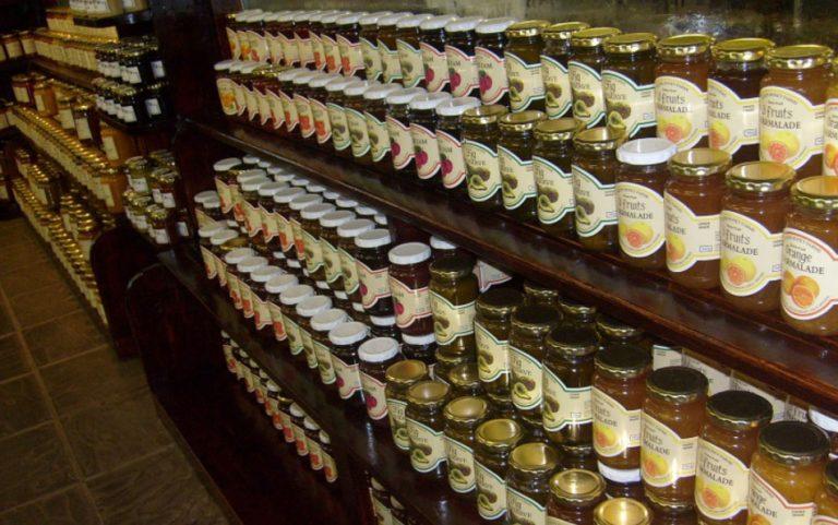 Various Tinned Fruit Packaging