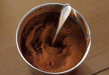 canned powdery products