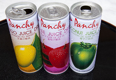 canned liquid products