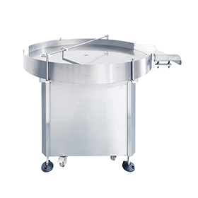 A Can Rotary Infeed Outfeed Table