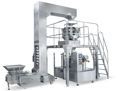 Premade Pouch Packaging Machine for granule