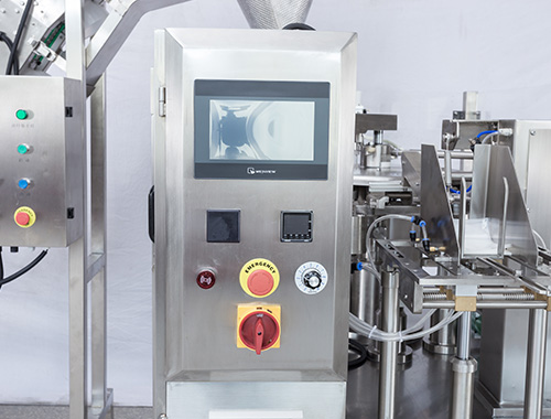 PLC System of Premade Pouch Packaging Machine for granule
