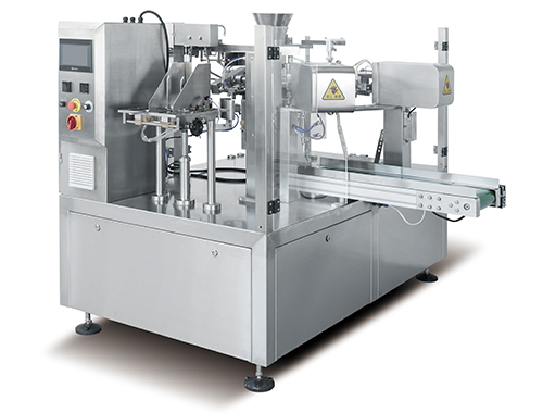 Premade Pouch Packaging Machine for powder station