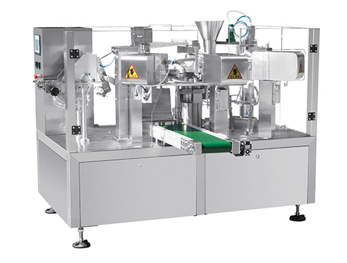 premade pouch packaging machine for powder